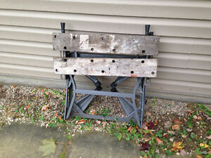 Black and Decker Workmate folding bench Kitchener / Waterloo Kitchener Area image 2