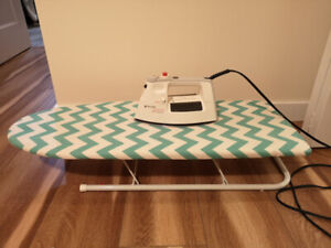 Black & Decker Iron  and table - $50