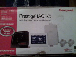 Honeywell IAQ prestige with RedLink Internet Gateway