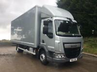 2014 14 DAF LF 180 Euro 6, 10 tonne, 22ft box, manual, sat nav, 170kms