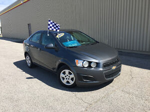 2013 CHEVROLET SONIC ****AIR CLIMATISE / BLUETOOTH