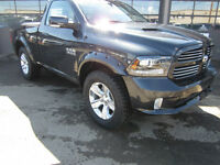 2015 Dodge Ram 1500 REGULAR CAB SPORT 4X4 WITH ONLY 500KMS!!