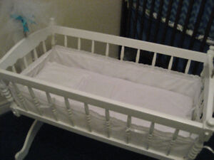 Baby cradle-vintage heirloom