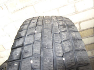 GREAT DEAL! - 4 good snow tires with steel rims Kitchener / Waterloo Kitchener Area image 2