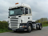 Scania R-480 High LIne 6 X 2 Tractor Unit Manual Gearbox