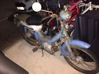 Wanted: Honda PC50 moped parts for urgent restoration