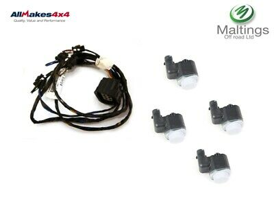 DISCOVERY 4 PARKING SENSORS + WIRING LOOM DISCOVERY 4 REAR PDC SENSOR SET 10 on