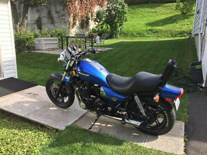 Kawasaki 1100 ltd 1984 restauré