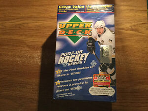 07/08 UD Hockey Series 1&2. Choice of Either Blaster Box
