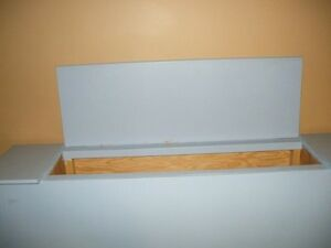 HOME BUILT HEADBOARD OR STAND Regina Regina Area image 3