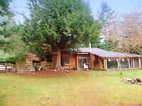 *REDUCED* East Courtenay Home and Acreage - Subdivision Pote