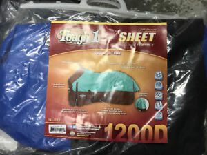 Turn out blanket and rain sheet