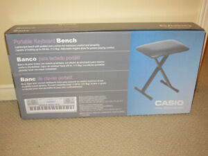 Casio Piano Keyboard Bench/Guitar Stool