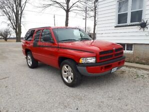 2000 Dodge Power Ram 1500 Ramcharger SUV, Crossover