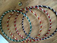 Hand made weighted hula hoops for sale