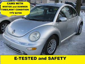 2001 Volkswagen New Beetle. Heated seats .MINT CONDITION $2700