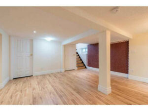 2 BEDS 1 BATH BASEMENT UNIT & NEWLY RENOVATED!  AVAIL MAY 1ST!!