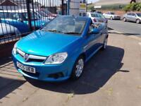 Vauxhall Tigra Coupe Convertible 1.4i 16v Manual Petrol Blue 2 Door