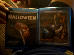 HALLOWEEN BLU RAY HORROR MOVIES MICHAEL MYERS