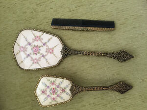 Vintage ladies vanity set
