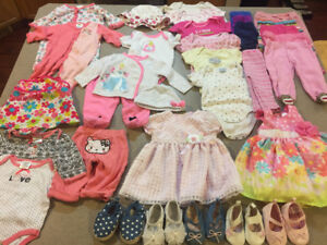 princes girls 3-6 months clothing lot