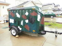SALE   NEW!Yuppie Trailer, LIGHT WEIGHT, Ramp door Only