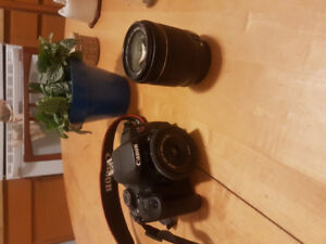 Canon t5i w/ 18-55 mm lens and 40mm lens