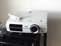 Epsom home projector and screen