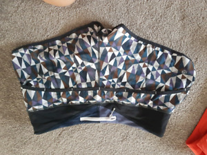 Stained glass lululemon speed shorts
