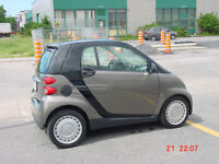 2010 Smart Fortwo Hatchback / black and silver