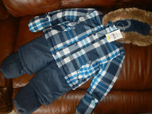 Snow suit 7pc.