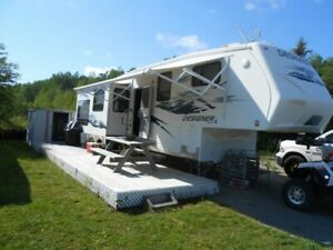 Roulotte fifth Wheele 35 pied