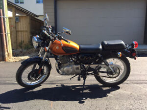 Suzuki tu250x: Excellent condition