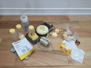 Meleda Swing Electric Breast Pump with Extras