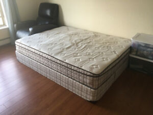 Organic Bed, lightly used
