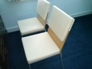 2 MATCHING DINING CHAIRS MADE TO LAST LIKE NEW