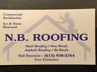 NB Roofing & Contracting Inc.: Free Estimates