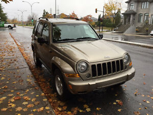 2007 Jeep Liberty 4x4 Trail Rated 72430KM SEULEMENT !!!