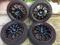 Ford Alloy Wheels 5 x 108 Focus Mondeo Transit Connect Genuine Ronal