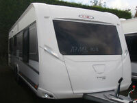 BRAND NEW 2017 LMC 655 EXQUISIT VIP,£2500 TO RESERVE YOUR CARAVAN