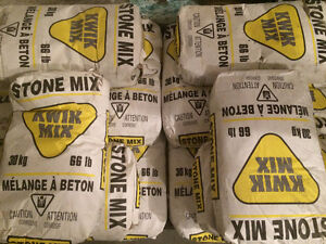 Kwik mix Cement mix.
