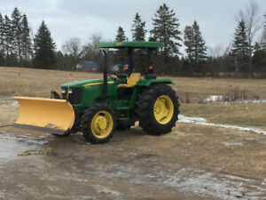 Meyer Snow plow and mount for John Deere