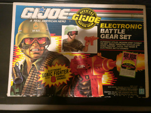 1990 Vintage Hasbro GI Joe Electronic Duke's Battle Gear Set