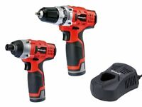 Einhell TC CD/CI Cordless Drill Twin Pack 12 Volt 2 x 1.5Ah Li Ion (Brand New)