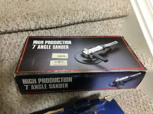 """High production 7"""" Angle Sander in box"""