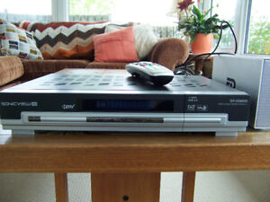 Sonicview SV-HD8000 FTA Satellite and ATSC PVR with remote