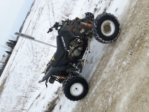 Trade 07 polaris 525 outlaw for sled in need of some work