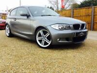 2009 09 BMW 1 SERIES 2.0 118D M SPORT 3D DIESEL