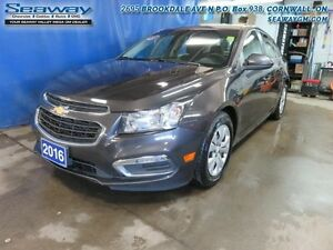 2016 Chevrolet Cruze Limited LIMITED LT   - $100.68 B/W
