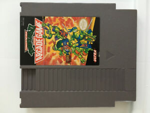 NES TMNT II The Arcade Game Nintendo